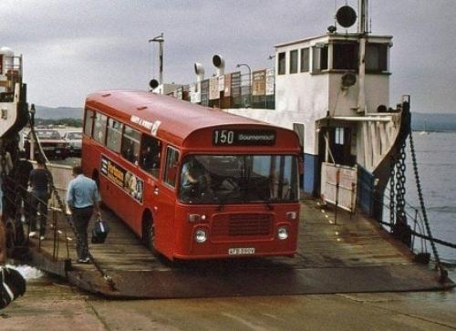 Old Sandbanks Ferry
